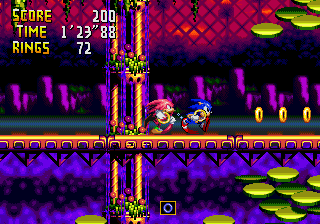 Sonic in Chaotix