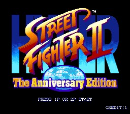 Hyper Street Fighter II: The Anniversary Edition Easy Move