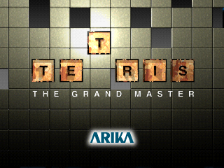 Tetris: The Grand Master ZN-2 to PSX conversion