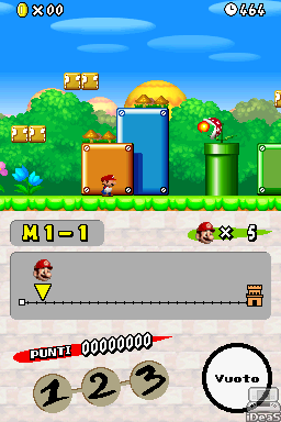 New Super Mario Bros 3 DS