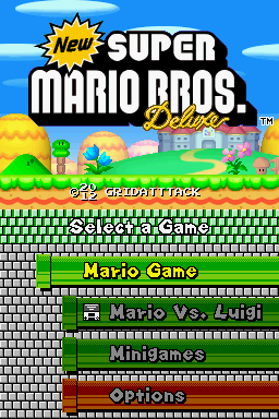 Romhacking Net Hacks New Super Mario Bros Deluxe