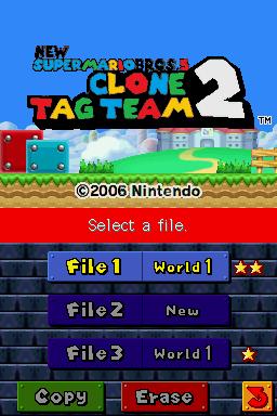 Romhacking net - Hacks - New Super Mario Bros  5: Clone Tag