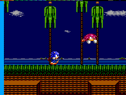 Sonic Triple Trouble SMS