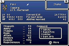 FF5a: Custom Classes