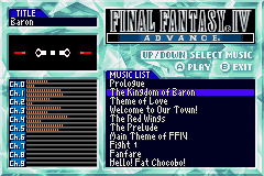 Final Fantasy IV - Sound Restoration hack