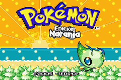 Pokemon naranja rom english