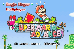 Super Mario Advance Color Restoration