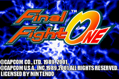 Final Fight One - Arcade Remix