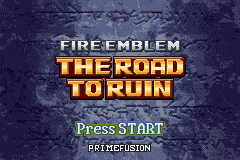 Romhacking net - Hacks - Fire Emblem: The Road to Ruin