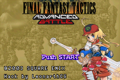 Final Fantasy Tactics Advanced Battle