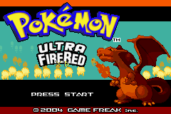 Pokemon Ultra Fire Red XD