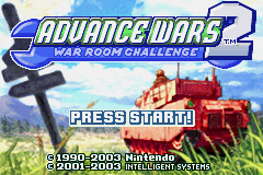 War Room Challenge 2012 - Advance Wars 2