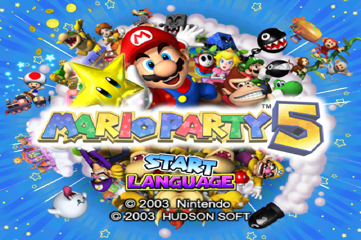 Mario Party 5 PAL 60hz Patch