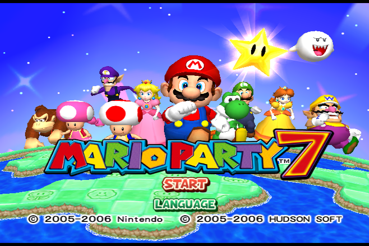 Mario Party 7 PAL 60hz Patch