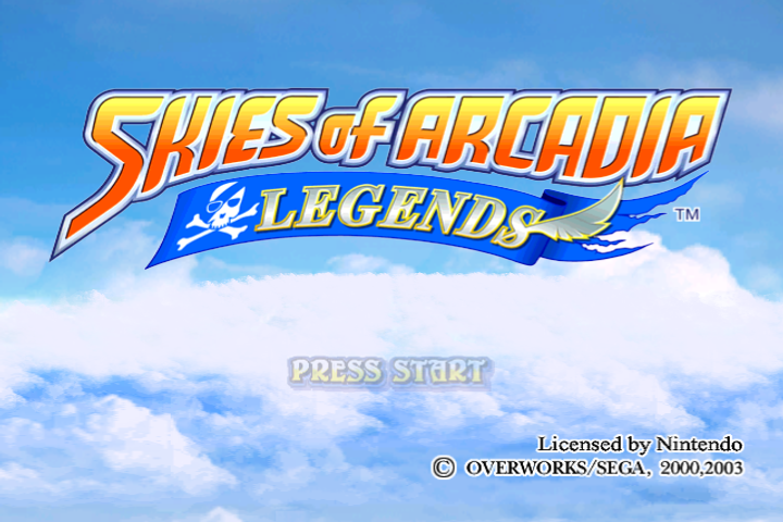 Skies of Arcadia Legends PAL 60hz Patch