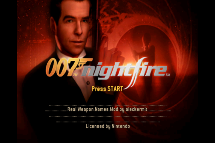 007: Nightfire Real Weapon Names
