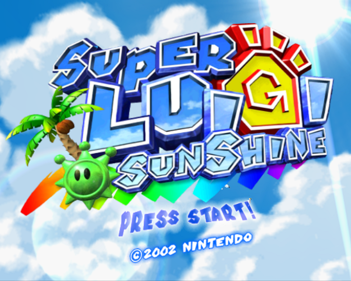 Super Luigi Sunshine (Now with Luigi's voice)