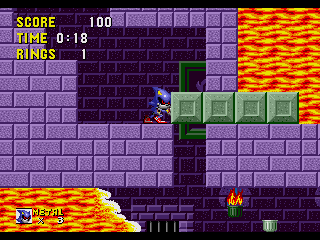 Metal Sonic in Sonic the Hedgehog