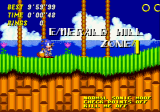 Sonic 2 Time Attack