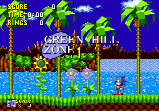 Sonic 1 - Return to the Origin