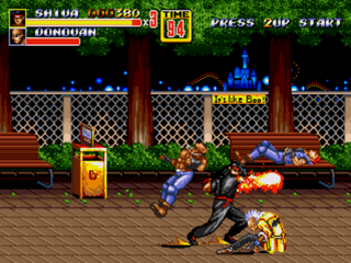 Streets of Rage 2 - Shiva Patch