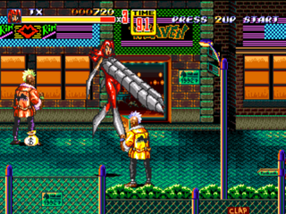 Streets of Rage 2 - Blaze & Ruby TX Edition