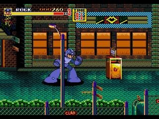 Streets of Rage 2 - Mega Man Edition