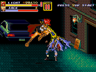 Streets of Rage 2 - Lightning FF XIII Patch