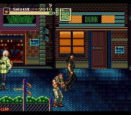 Streets of Rage 2 - Extreme Alliance
