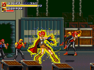 Streets of Rage 3 - Lightning XIII Hack