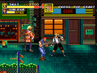 Streets of Rage 2 - Sketch Turner