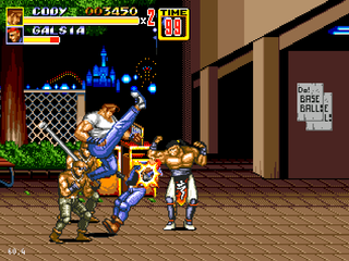 Streets of Rage 2 - Cody