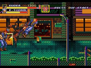 Streets Of Rage 2 - Rudra Unlocked