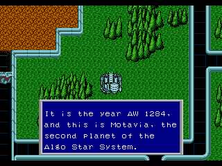 Phantasy Star II Modernization Hack