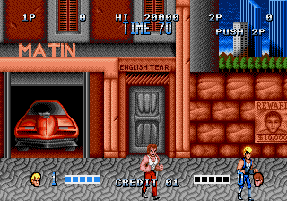 Double Dragon GENESIS - Arcade Fix