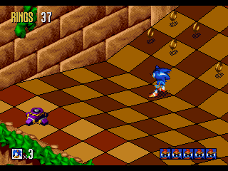 Sonic 3D Blast Time Attack