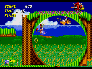 Sonic 2 Early Prototype Green Hill Zone Fix