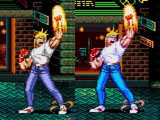 Streets of Rage 2 Color Hack