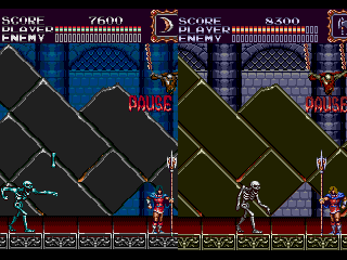 Castlevania Bloodlines Enhanced Colors