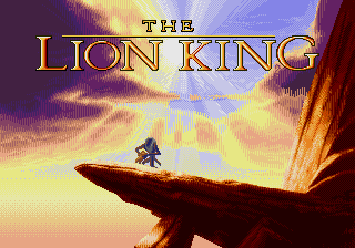 Lion King - Enhanced Colors