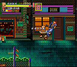 Diglett in Streets of Rage 2