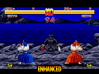 Samurai Shodown - Enhanced Colors