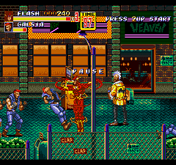 Flash in Streets of Rage 2