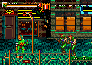 Romhacking net - Hacks - Streets of Rage 2 : TMNT Edition