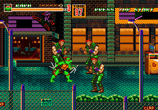 Streets of Rage 2 : TMNT Edition