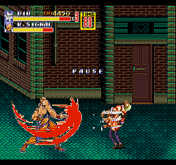 Dio Brando in Streets of Rage 2