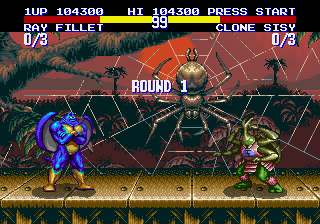TMNT: Tournament Fighters improved colors