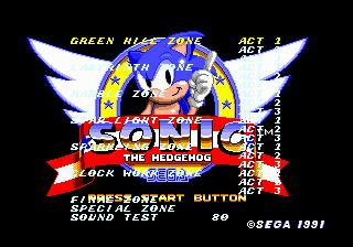 NEW Sonic The Hedgehog