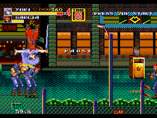 Watatsuki no Yorihime in Streets of Rage 2