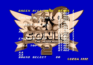 Sonic 2 Early Prototype Name Fix